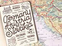 Germany, Austria & Slovakia