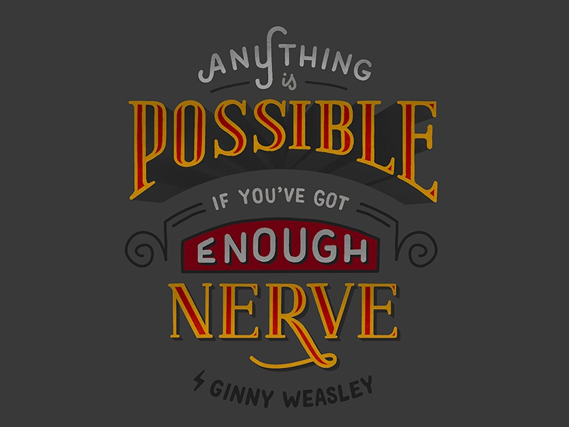 ginny weasley by jenn rothschild on dribbble