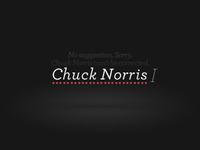 Chuck Norris Fact 2