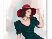 Digital painting/drawing shots