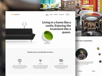 Royalfurbish furniture webmockup