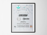 Hydrated Audio - Flyer Design
