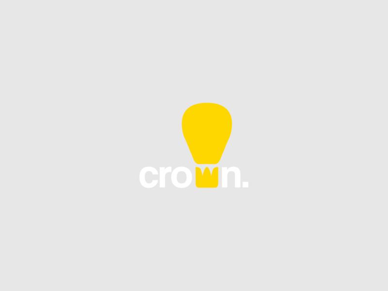 "#DailyLogoChallenge - Day 2: ""Crown"" illustrator lettering type minimal app flat web corporate company logo icon ux typography branding vector ui design illustration logo business logo logo design"