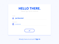 Sign Up — Daily UI challenge #001