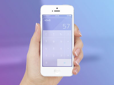Calculator — Daily UI challenge #004 challenge dailyui web calculator ux ui daily flat