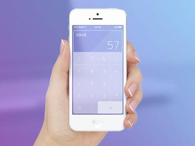 Calculator — Daily UI challenge #004