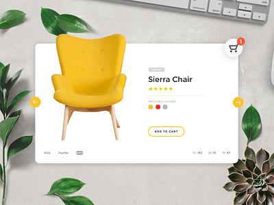 E-Commerce Shop (Single Item) — Daily UI challenge #012 shop ecommerce cart web ux ui dailyui daily challenge card