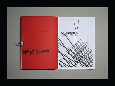 escu mag - Molдоva artwork illustration minimalism brutalist brutalism escu magazine design graphic design poster typography moldova tolerance magazine zine art print