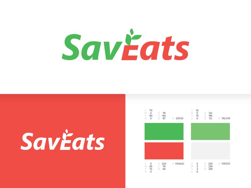 SavEats Brand Identity monogram illustration symbol identity design identity branding identity logo branding alex escu logotype mark minimalism
