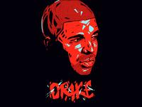 Drake // portrait.