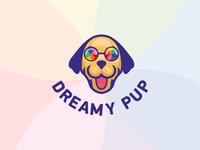 Dreamy Pup // Logo design concept.
