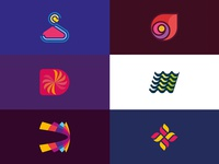 Little collection of logo design concepts.