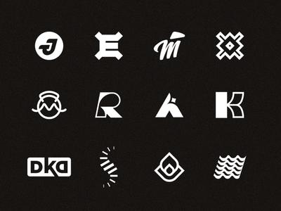 Logo Collection mark collection logo brand identity identity design escuarts trademark logomark monogram logo design logo collection logofolio branding alex escu mark symbol logotype minimalism