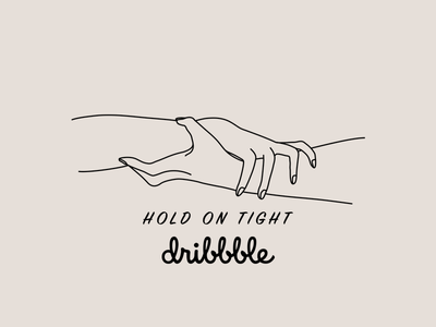 Hold On Tight more to come grip hands illustration debut hold on tight