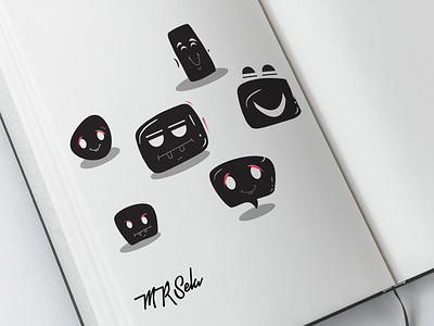 Meet Mr Sela funny character characterdesign mobile illustration