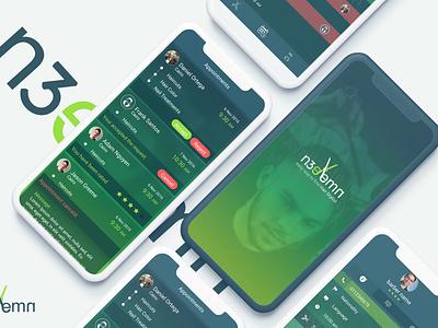 N3eemn user center design ux-ui uidesign android app ios