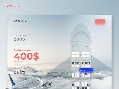 SkyScanner flight app aircraft airplane airline airport webdesign website uxdesign uidesign flight app flight search flight booking flight
