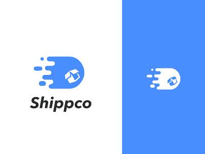 shipcco Logo logo uxdesign uidesign blue