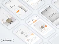 Solovivo mobile app