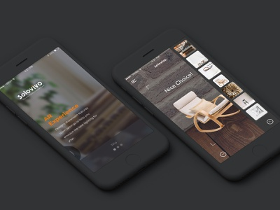 Solovivo darktheme darktheme black minimalism uxdesign uidesign design-ui-ux mobile web clean android ios
