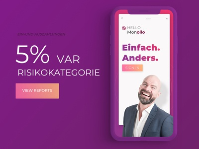 Monollo Financial app