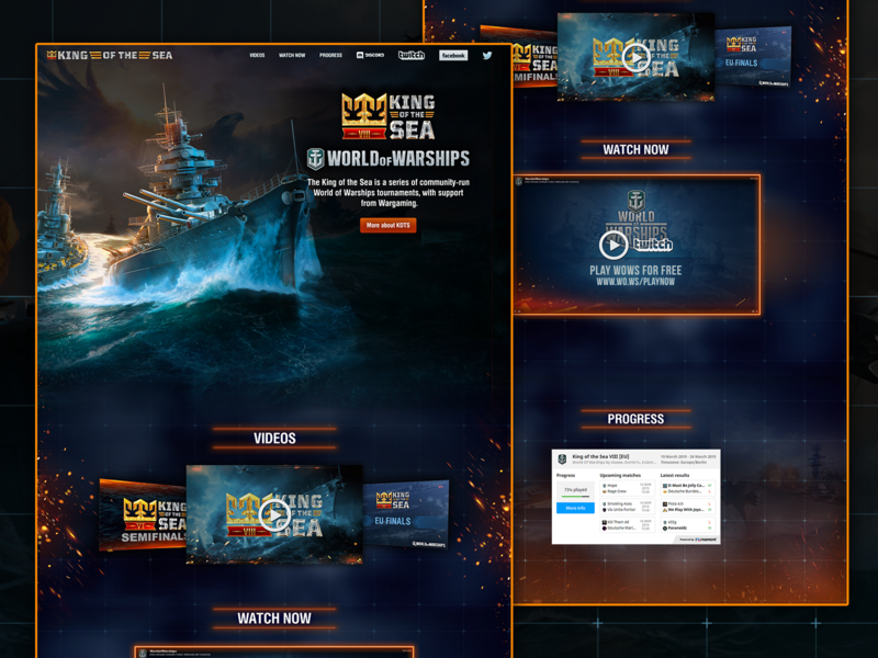 King Of The Sea - World Of Warships Tournament Website