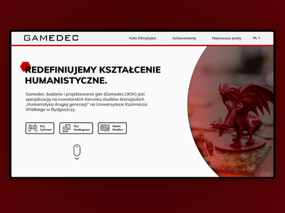 Gamedec - Designing and studying games (landing page)
