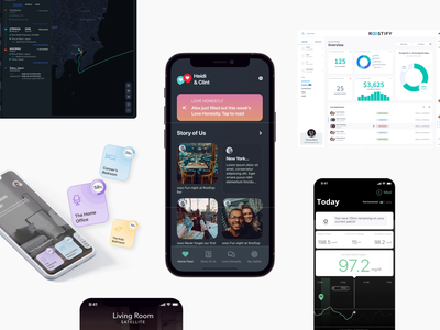 Ready to Launch Your Product? agency mobile design bank development analytics logistics health fintech design system data