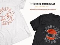 Burrito Baton Shirt Designs