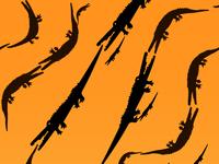 Pattern tiger skin