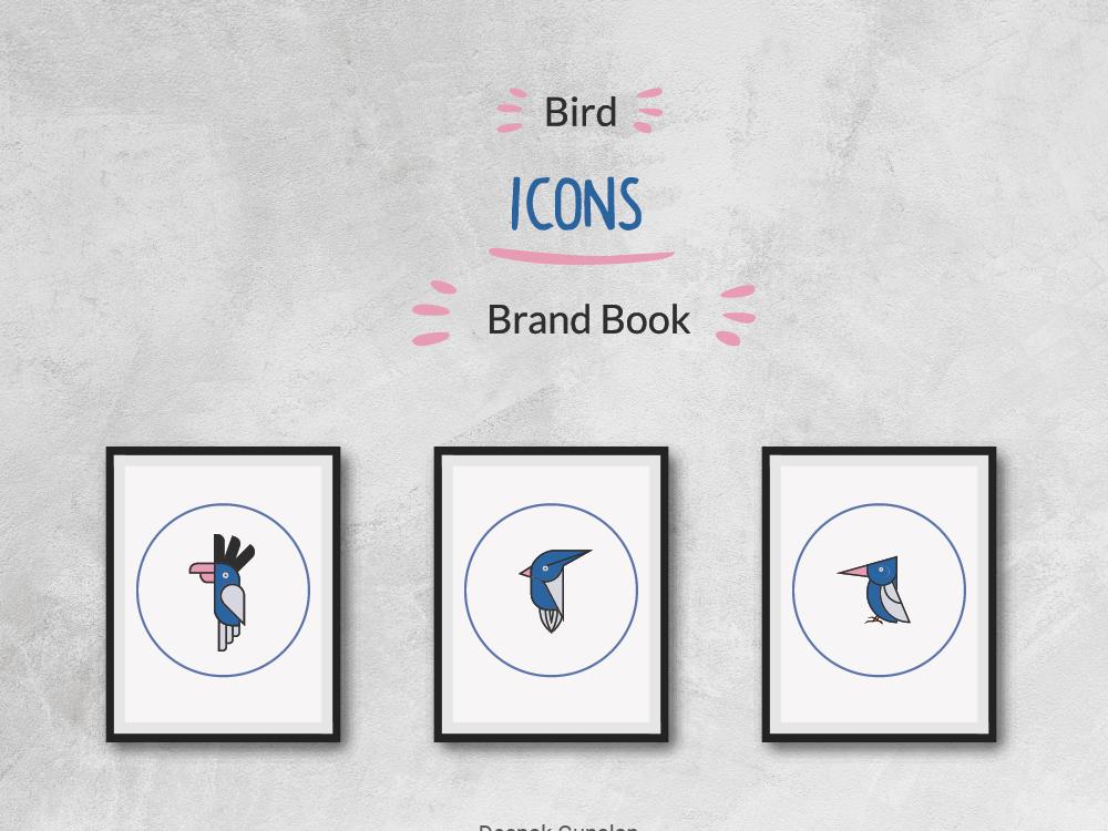 Bird icons icon branding illustration