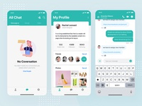 Sophie Messaging app ui kit