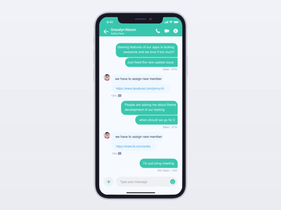 Messaging app interaction messaging app conversation ios android mobile chatting app message gif animation symbol after effects sourabh iphone x design intro motion splash screen animation micro interaction share photo location ui ux uiux typography logo flat interface experience illustration modern minimal