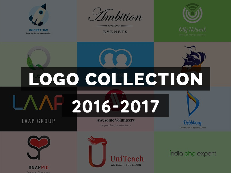 Logo Collection collection logos volunteer snap image pic teach leaf network event rocket logo