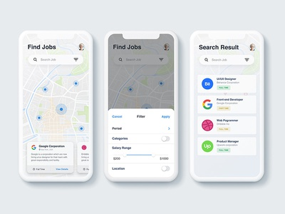 Find job app