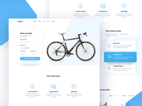 Bike rental home page