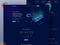 Crypto Currency Website Landing page