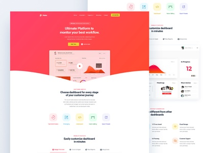 Saas Landing Page business agency corporate homepage home market landing page bundle gatsby saas marketing product ui ux user interface experience bootstrap web website webdesign interaction modern freelance code developer typography logo flat template theme psd js react next html css responsive