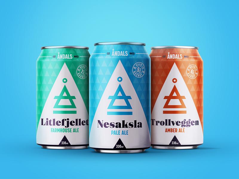 Andals Craft Beer branding design branding packaging design art direction packaging craft beer design