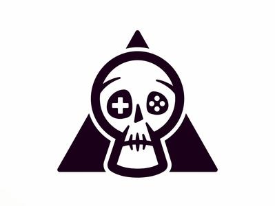 Death by Gaming art direction icon logo branding design character design cartoon character cartoon vector illustration