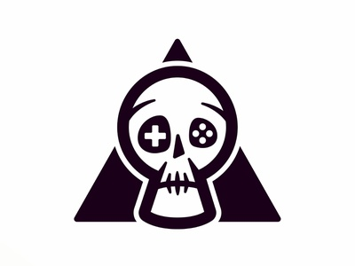 Death by Gaming art direction icon logo branding design character design cartoon character cartoon vector illustration