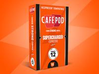 CaféPod Branding – Supercharger