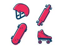 Skate Icons