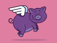 Pigs might fly...
