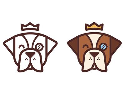 Duke dog adobe illustrator logo branding character design cartoon character design illustration vector