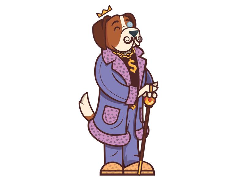 Character Mascot adobe illustrator brand mascot dog cartoon design character cartoon character character design cartoon vector illustration
