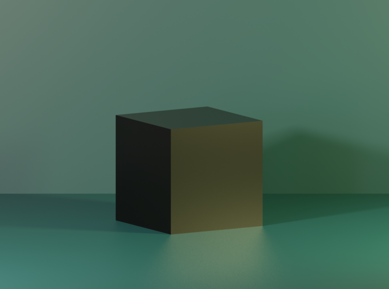 Blender - Cube Wallpaper