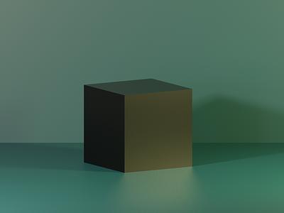 Blender - Cube Wallpaper minimal blender 3d clean design cube 3d blender