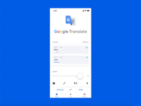 Google Translate - Redesign