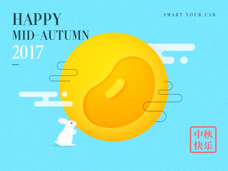 Mid autumn festival greeting card by mattwang dribbble m4hsunfo